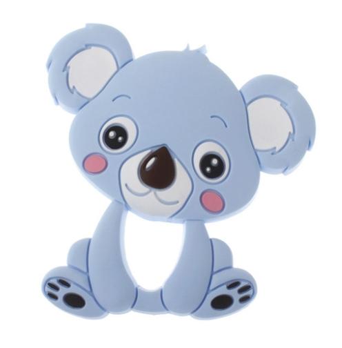 Mordedor para bebes de silicona azul Koala de Mordisquitos