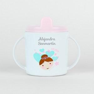 Taza personalizada vuelta al cole 9 meses guardería bebé
