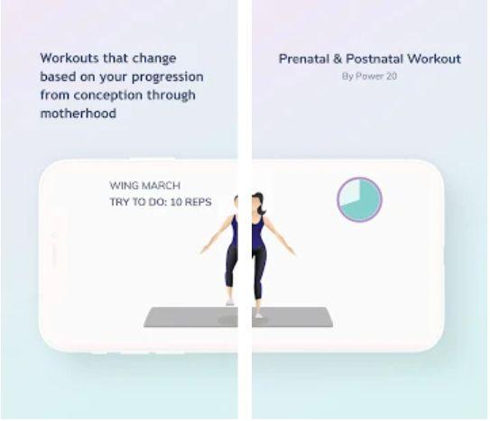 App ejercicio parra embarazadas