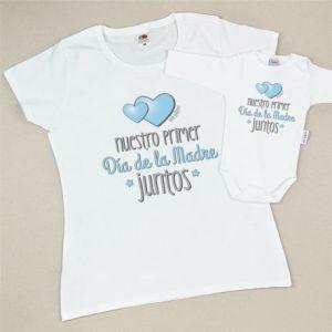 Pack de prendas día de la madre regalo mamá bebé personalizable