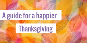 Let's try something different this Thanksgiving! No diet or binge talk - let's focus on gratitude instead