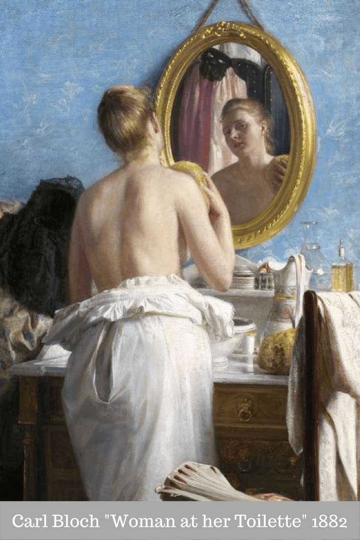 Carl Bloch_ Woman at her Toilette, 1882-2