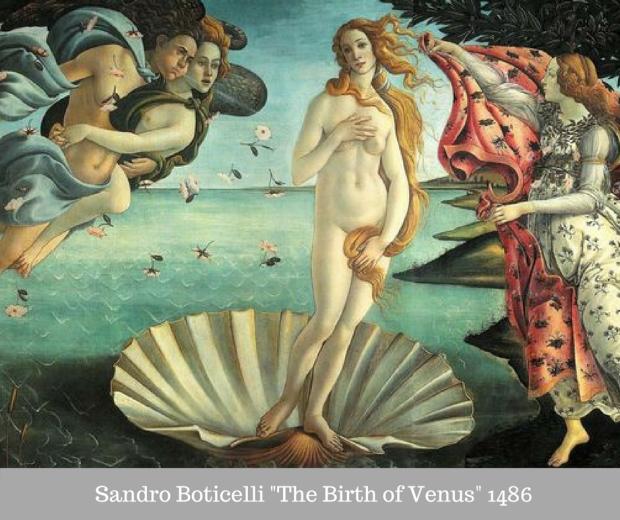 Sandro Boticelli The Birth of Venus, 1486