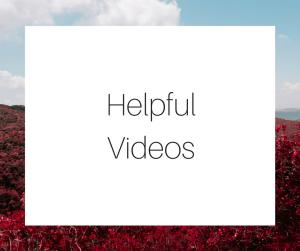 Helpful videos