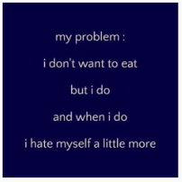 This type of post suggests that it is impossible to recovery from an eating disorder.