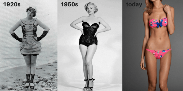 swimsuit models over the years (1)