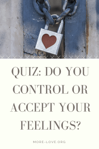 Quiz do you control your feelings or accept your feelings_