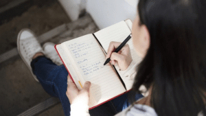 Journal prompts to use with a child in eating disorder recovery