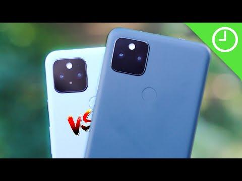 Pixel 5a vs. Pixel 5: Which should you choose?