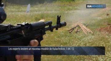 Essai AK-12 - Capture d'écran