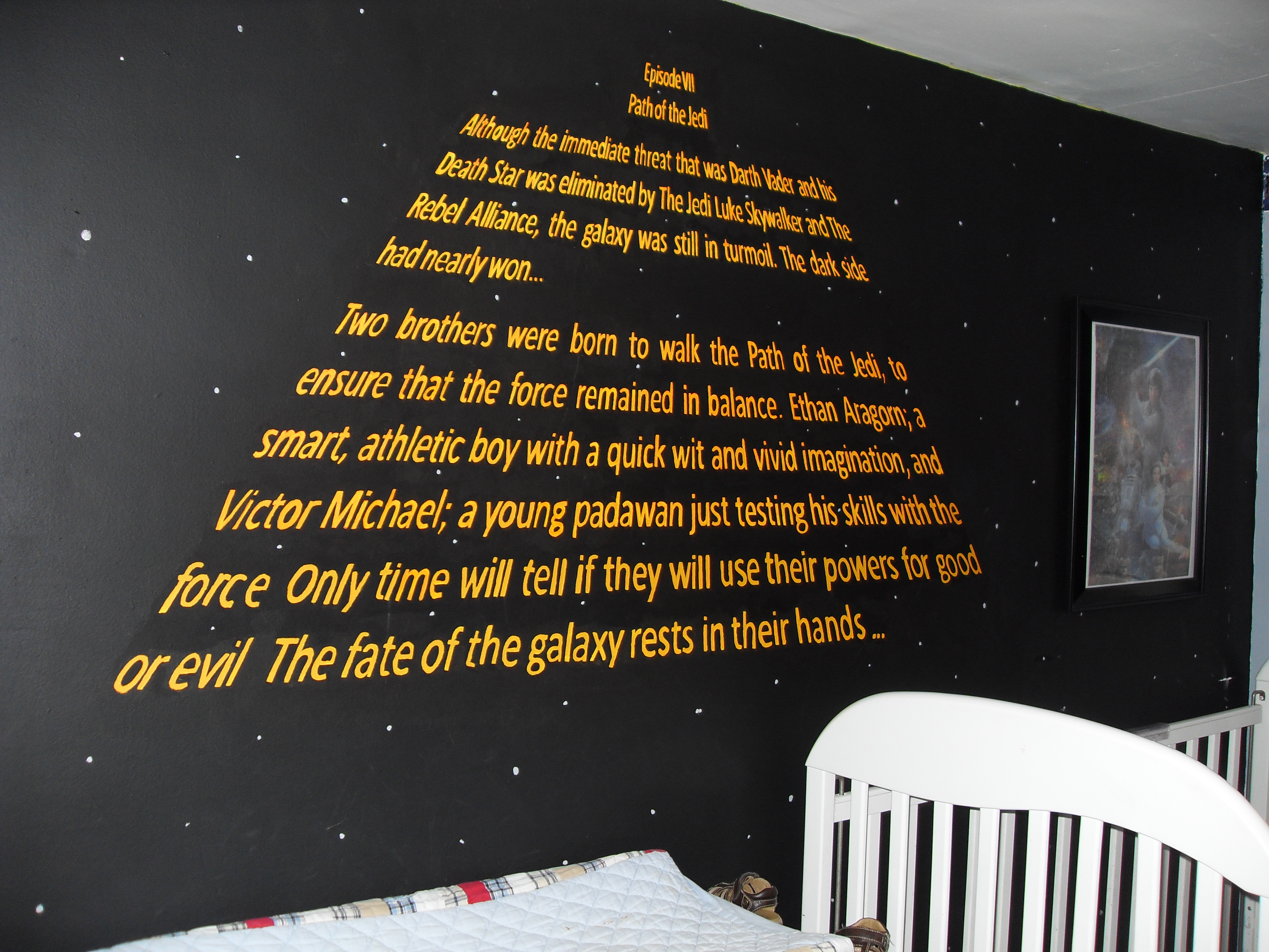 The Ultimate Star Wars Bedroom  The Moreau Family Blog