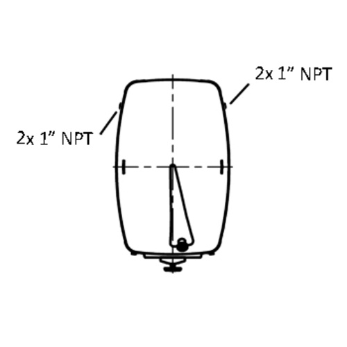 Cooling Jacket for Speidel RS-MO- & RA-MO-150-3900; L51