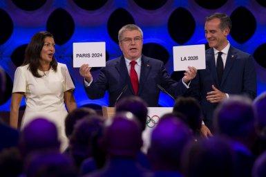 2024年パリ、2028年ロサンゼルスでのオリンピック開催が決定