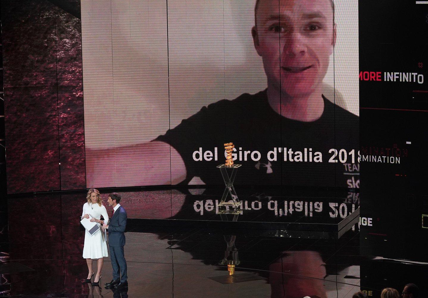 Giro d'Italia 2018, Chris Froome