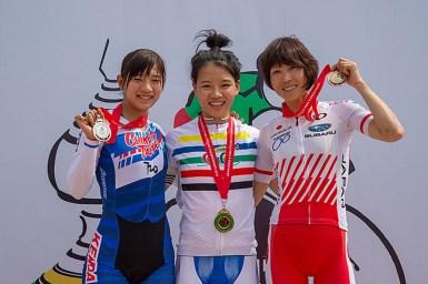 唐見実世子3位・アジア選手権ロード個人タイムトライアル2018
