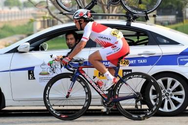 今度こそは個人優勝!アジア選手権ロードで新城幸也が5位/アジア自転車競技選手権大会2018