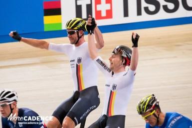 ドイツ4つ目の金メダル獲得、男子マディソンで優勝/トラック世界選手権2018