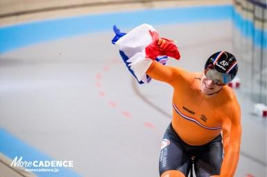 ブフリらオランダが世界王者に男子チームスプリント/UCIトラック競技世界選手権大会