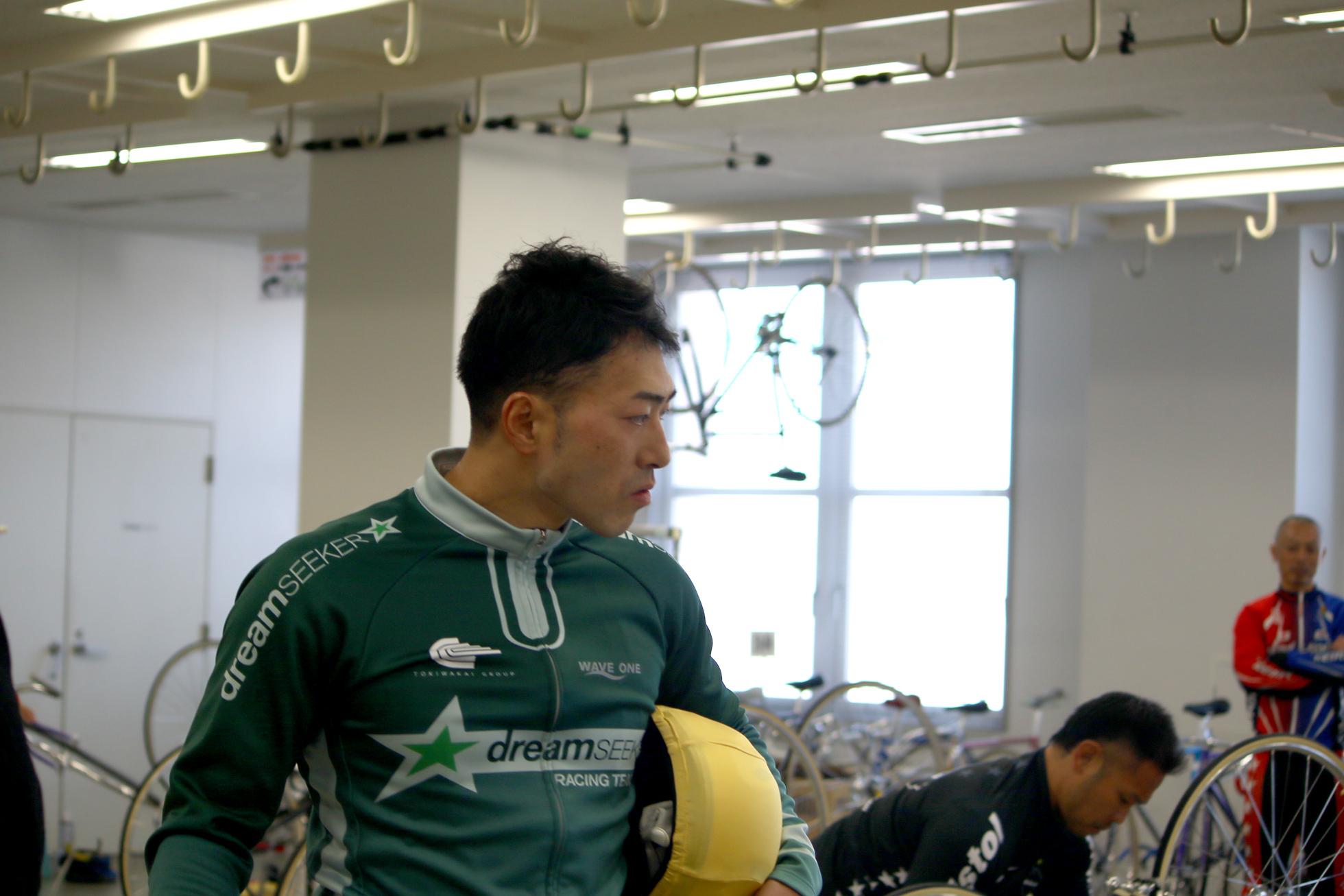 新田祐大選手
