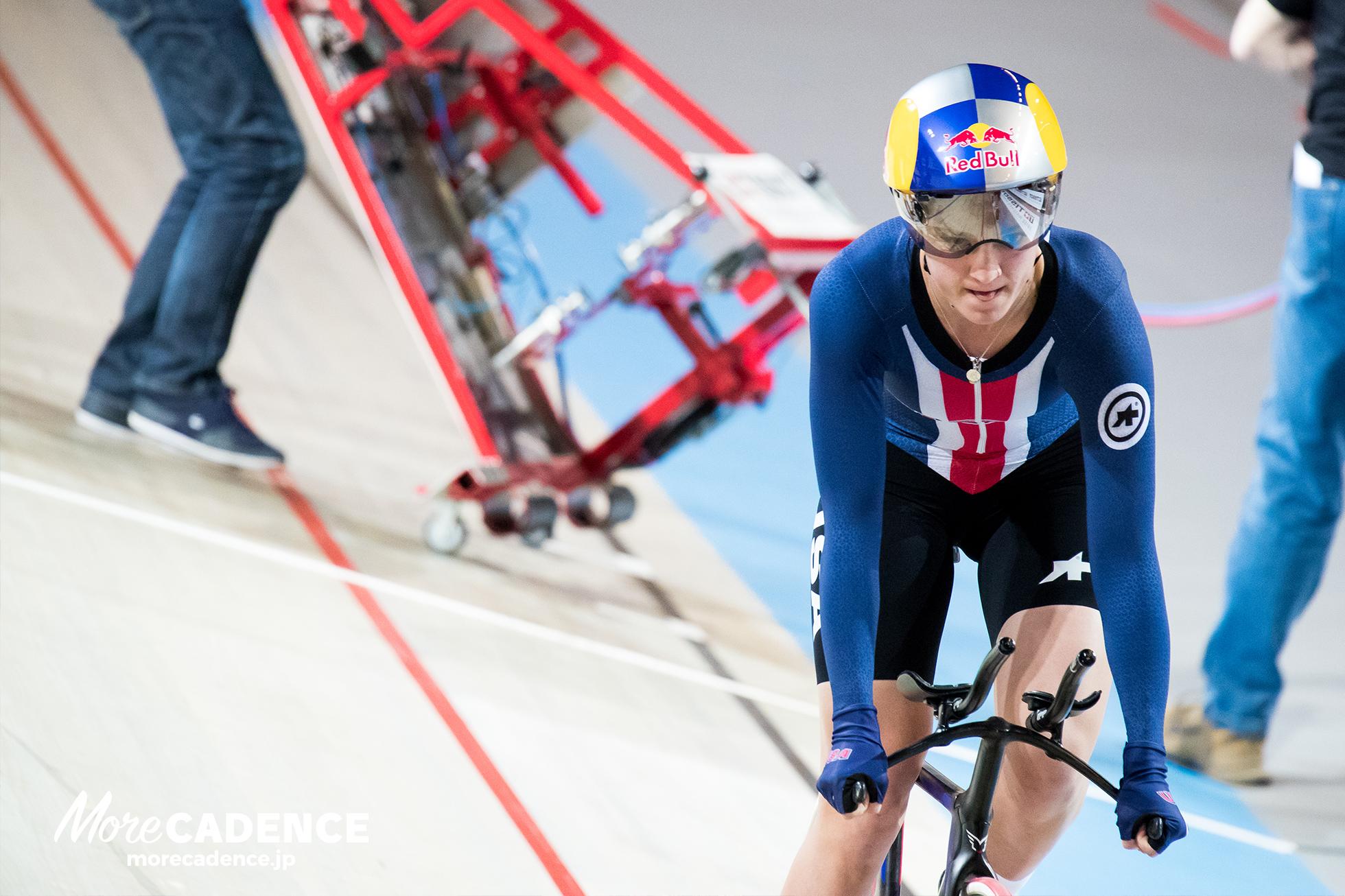 女子チームパシュート予選アメリカが圧倒・日本は敗退/UCIトラック競技世界選手権大会2018
