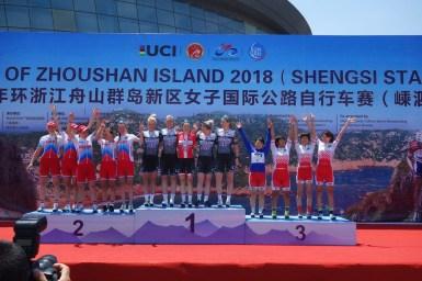 日本チーム総合3位、梶原が個人総合7位でアジアンリーダーに!/2018Tour of Zhoushan 第3ステージ