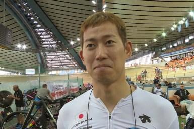 日本新の脇本雄太「記録が出たことで自信」/モスクワグランプリ2018・男子スプリント予選