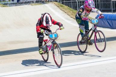 澤田茉奈が女子8歳クラスで世界一に/2018年UCI BMX世界選手権大会