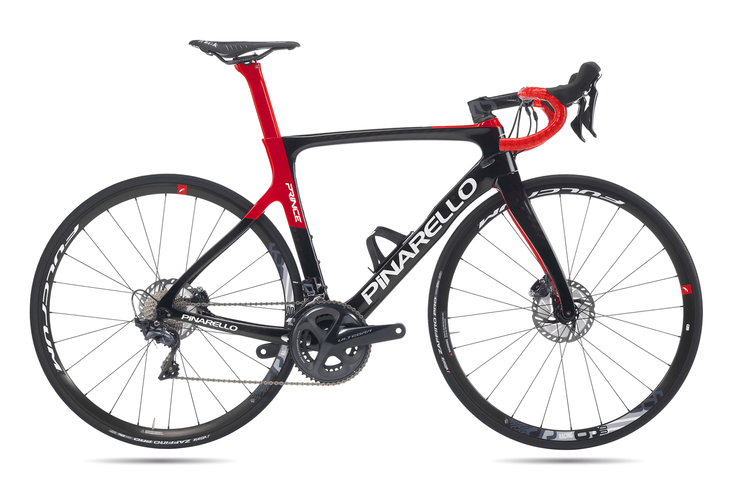 PRINCE DISK 718 Carbon Red