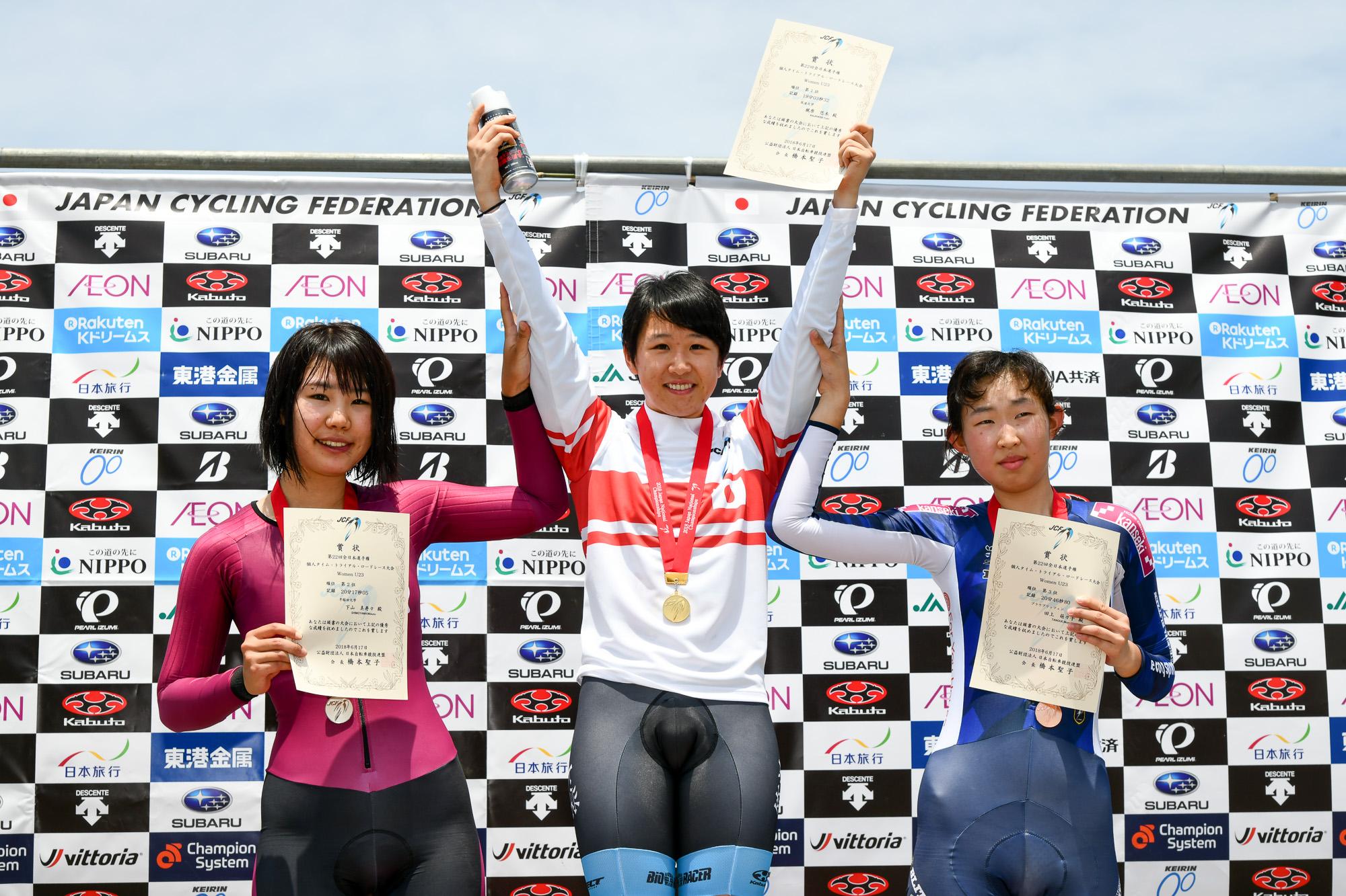 全日本ロード個人TT女子U23