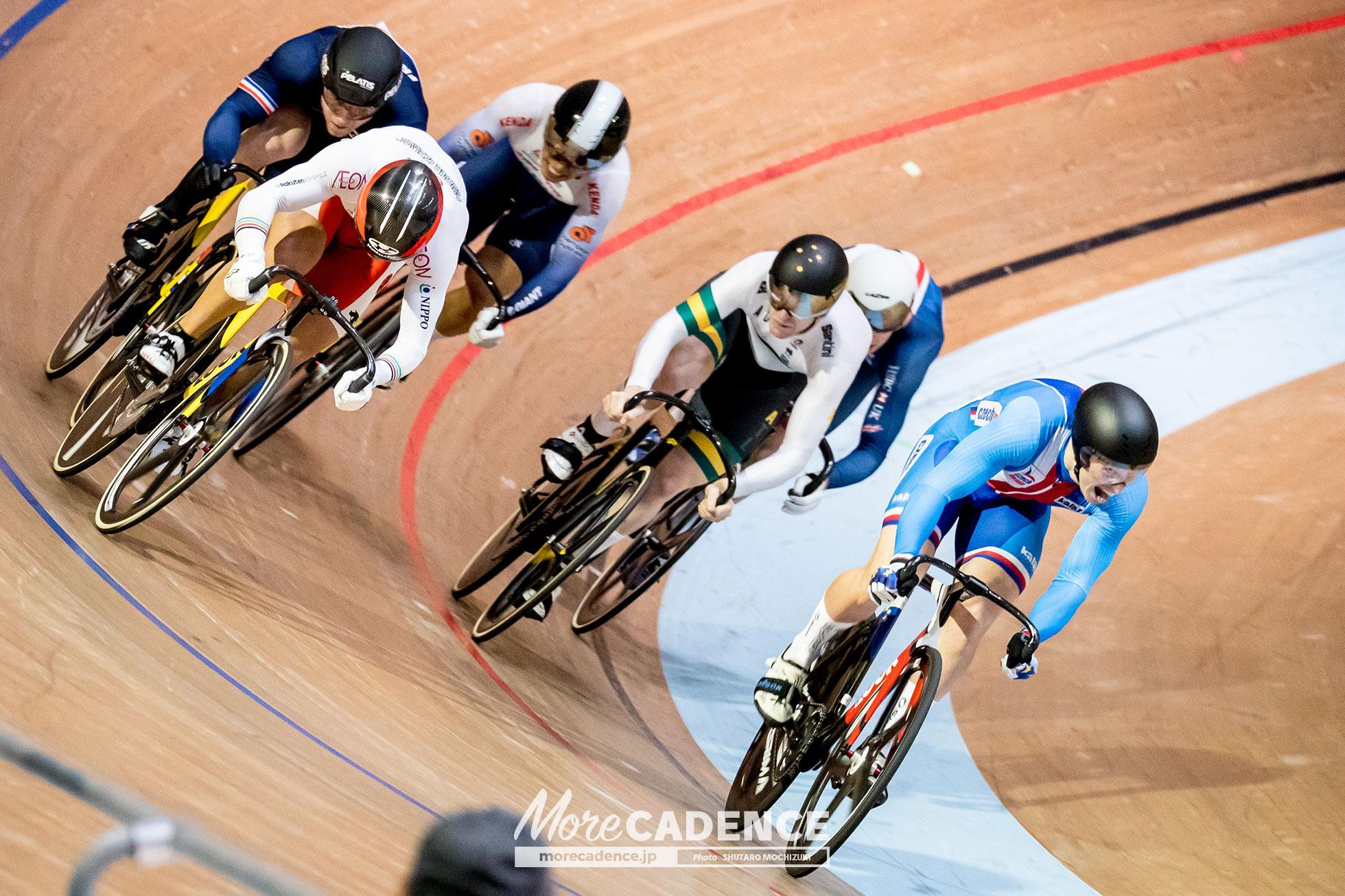 2018 Japan Track Cup 1 - ME Keirin 1/2 Final