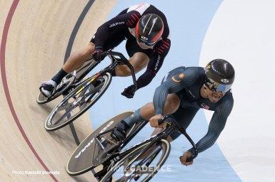 深谷知広が男子スプリントで銀、今大会2つ目のメダル獲得/アジア大会2018
