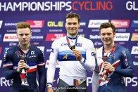 UECトラックヨーロッパ選手権2018・男子ケイリン