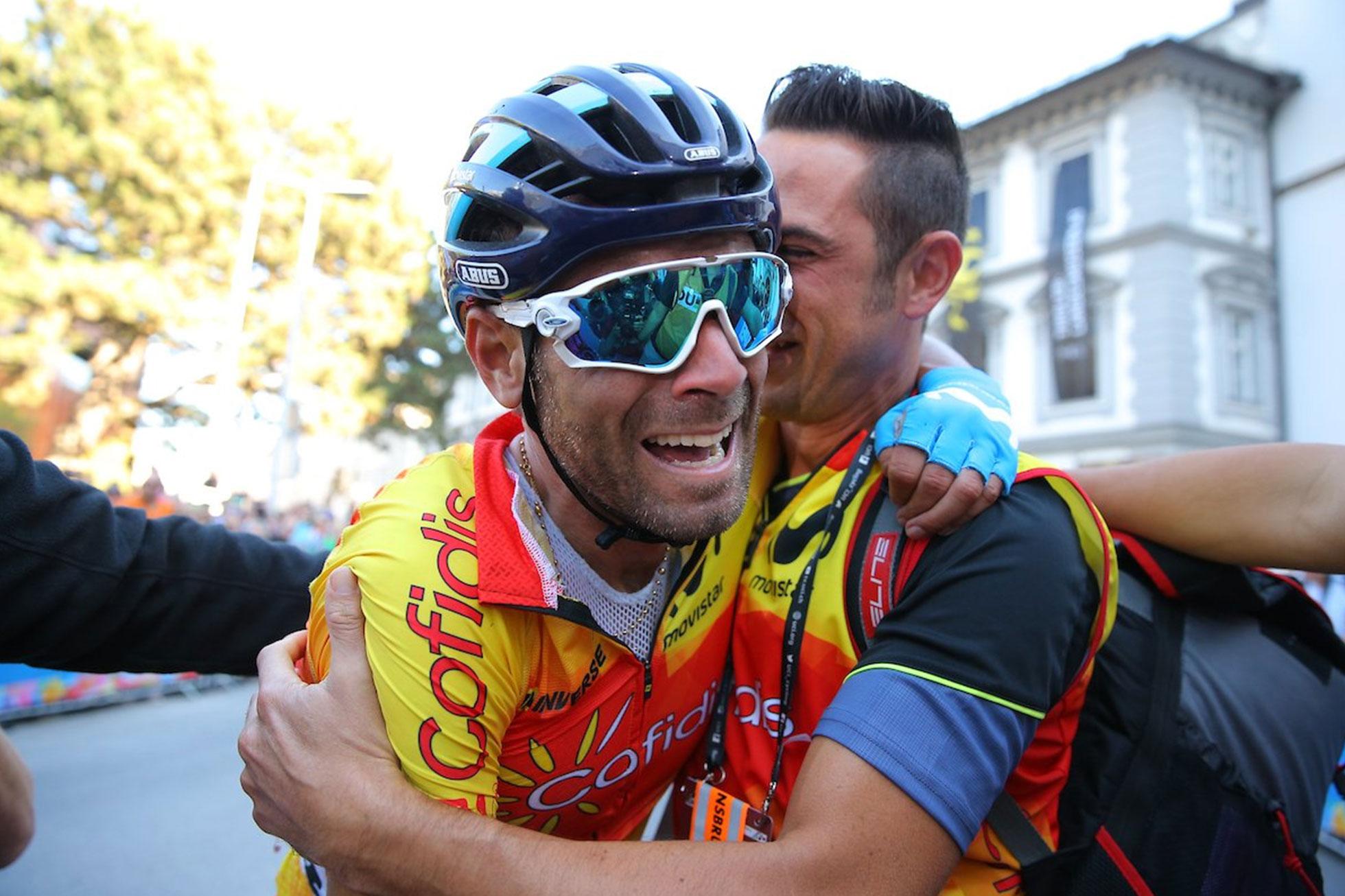 2018ロード世界選手権男子エリートロードレース優勝のアレハンドロ・バルベルデ