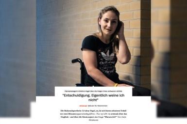 クリスティーナ・フォーゲル事故の後遺症で歩行は困難「でも私は生きている」