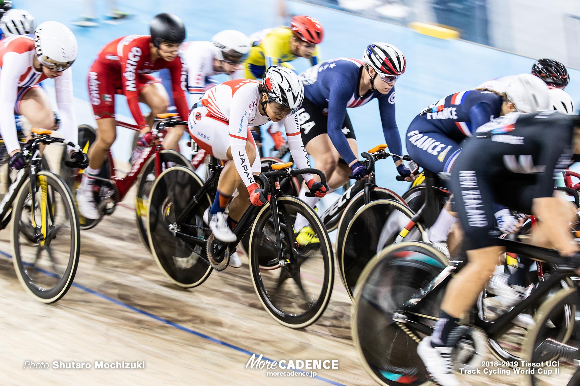 2018-2019 Tissot UCI Track Cycling World Cup II Women's Omnium I Elimination