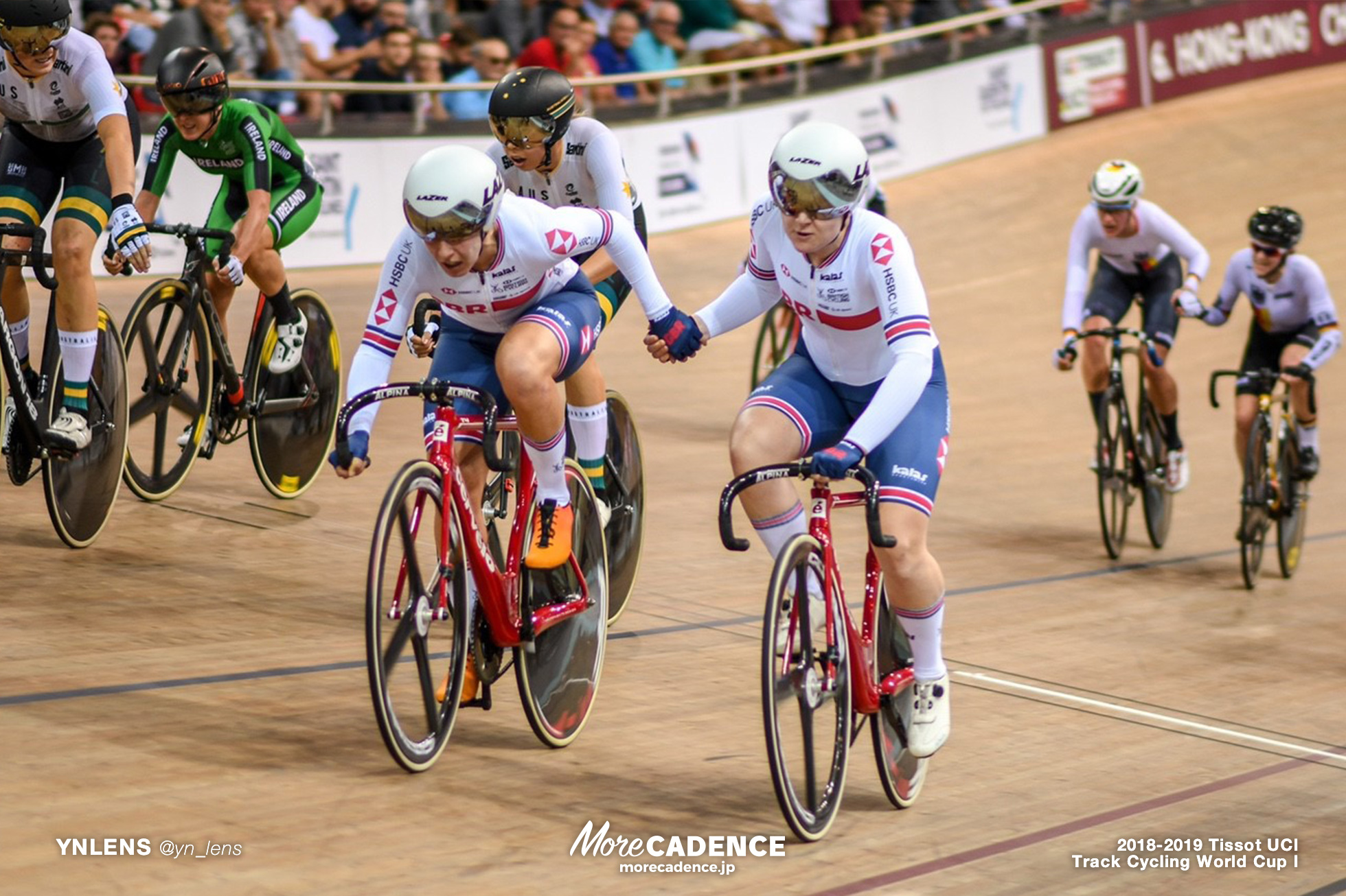 2018-2019 TRACK CYCLING WORLD CUP I Women's Madison