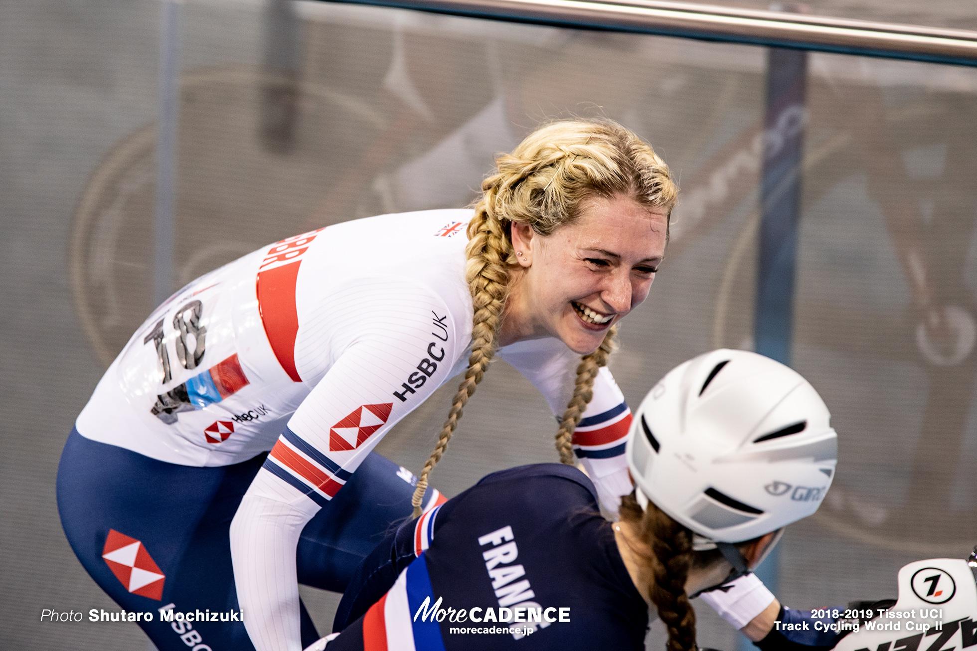 2018-2019 Tissot UCI Track Cycling World Cup II Women's Omnium I Point Race