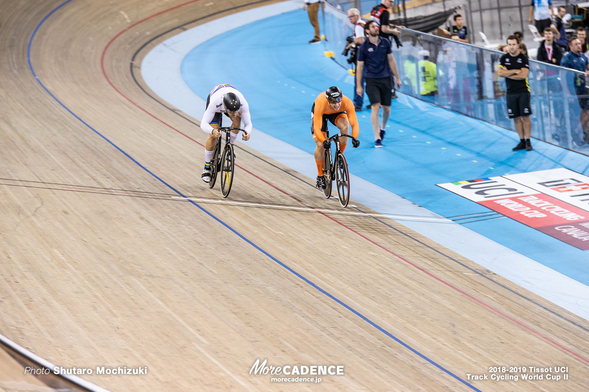 2018-2019 Tissot UCI Track Cycling World Cup II Men's Sprint Final