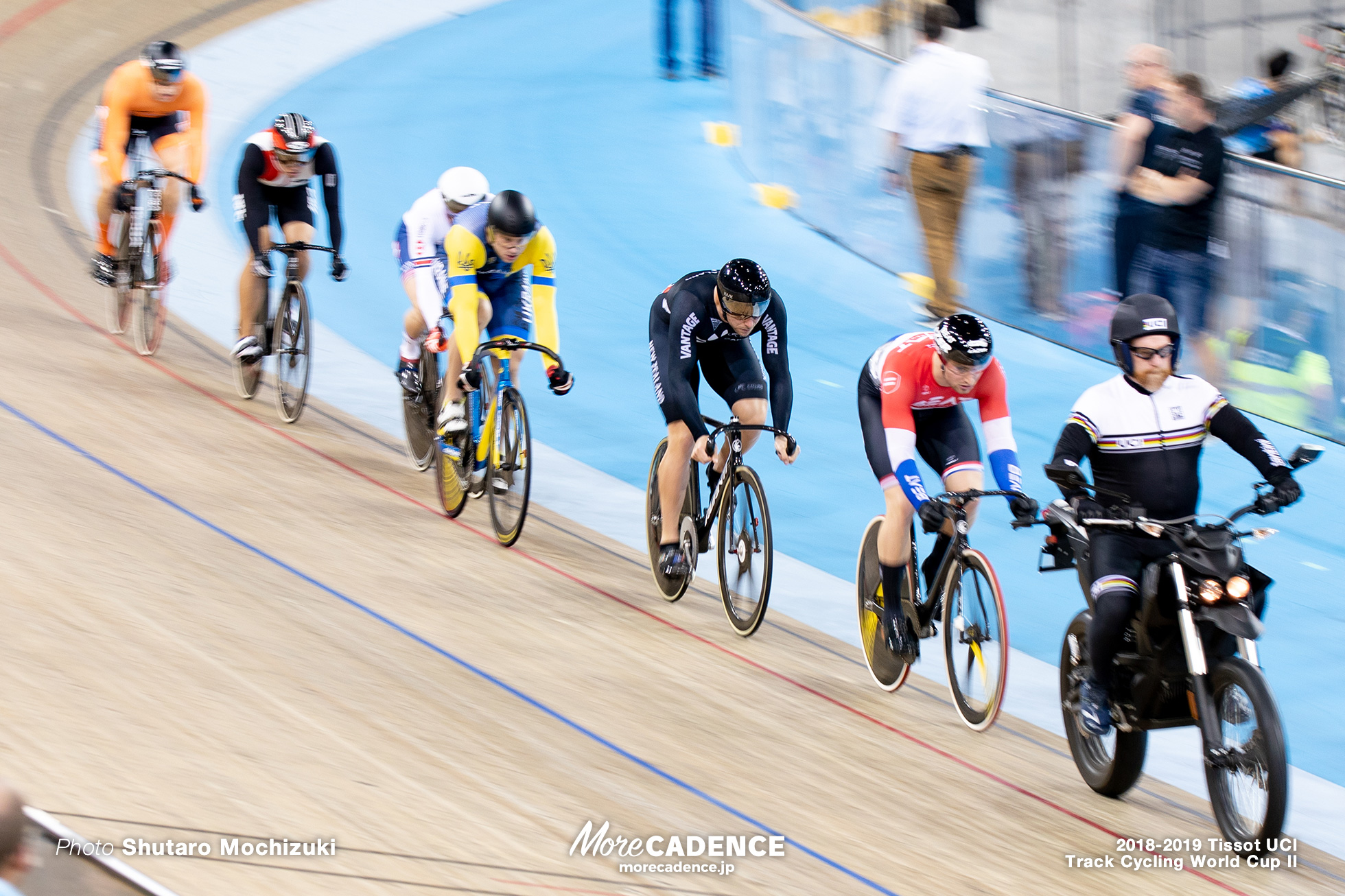 2018-2019 Tissot UCI Track Cycling World Cup II Men's Keirin Second Round