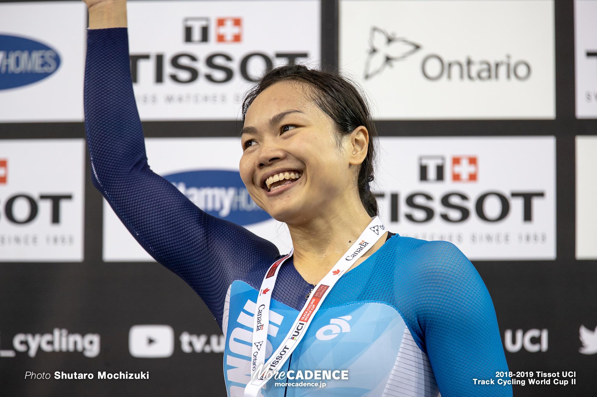 2018-2019 Tissot UCI Track Cycling World Cup II Women's Sprint Final