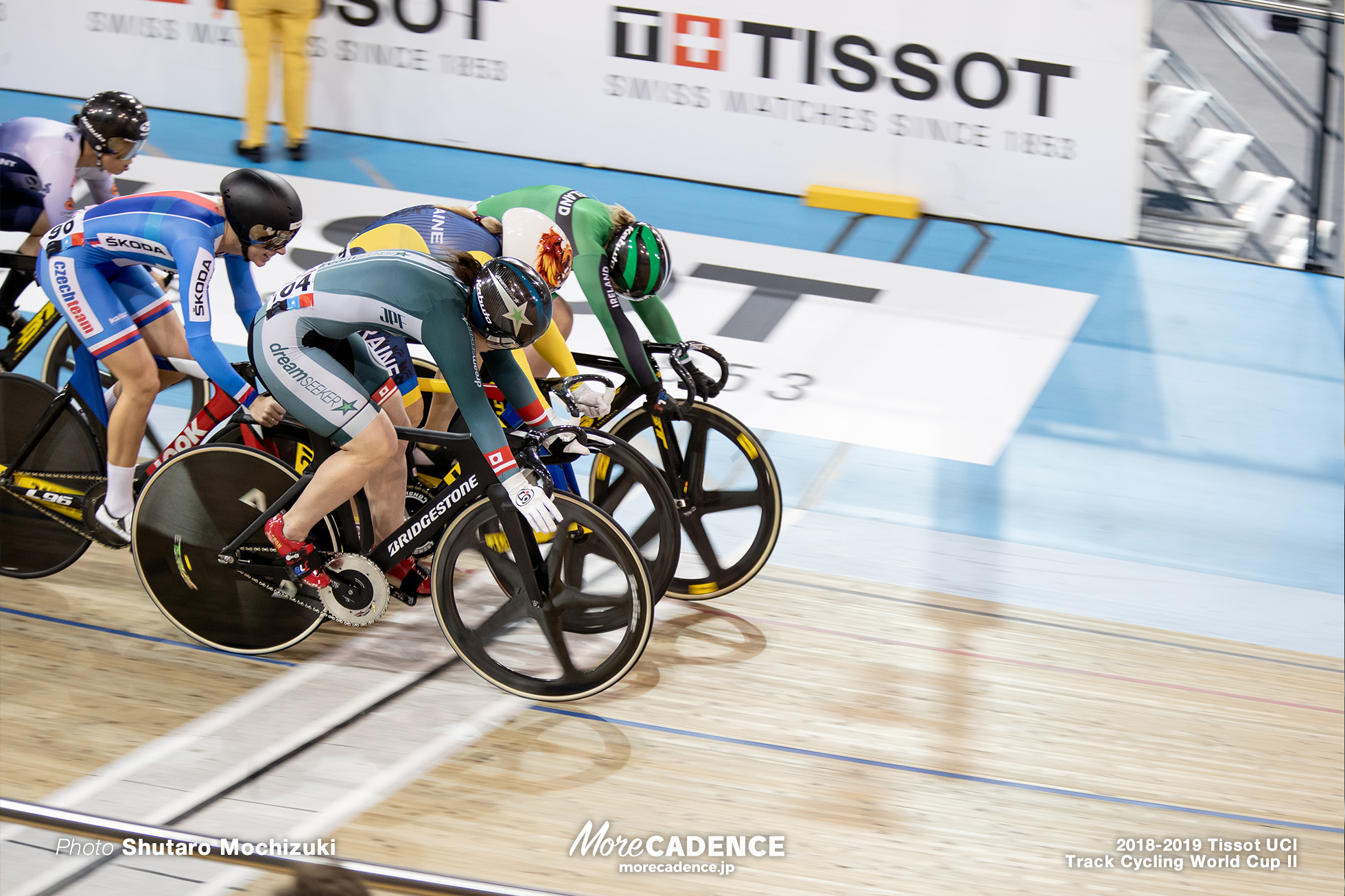 2018-2019 Tissot UCI Track Cycling World Cup II Women's Keirin 1st Round