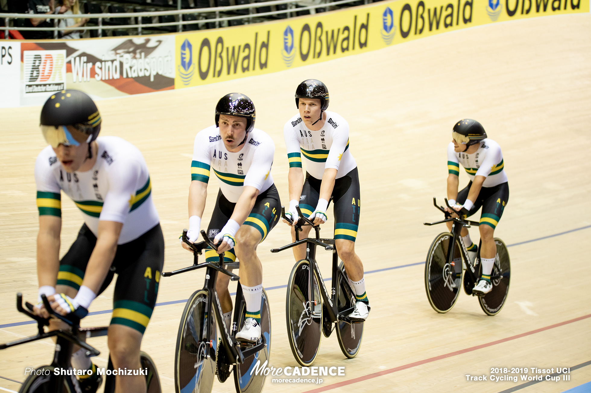 Men's Team Sprint/2018-2019 Track Cycling World Cup III Berlin