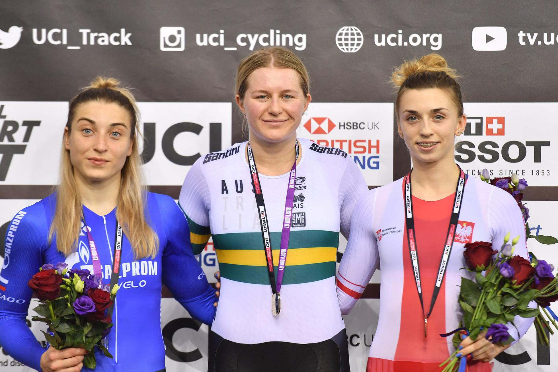 Women's Keirin/Final/2018-2019 Track Cycling World Cup IV London