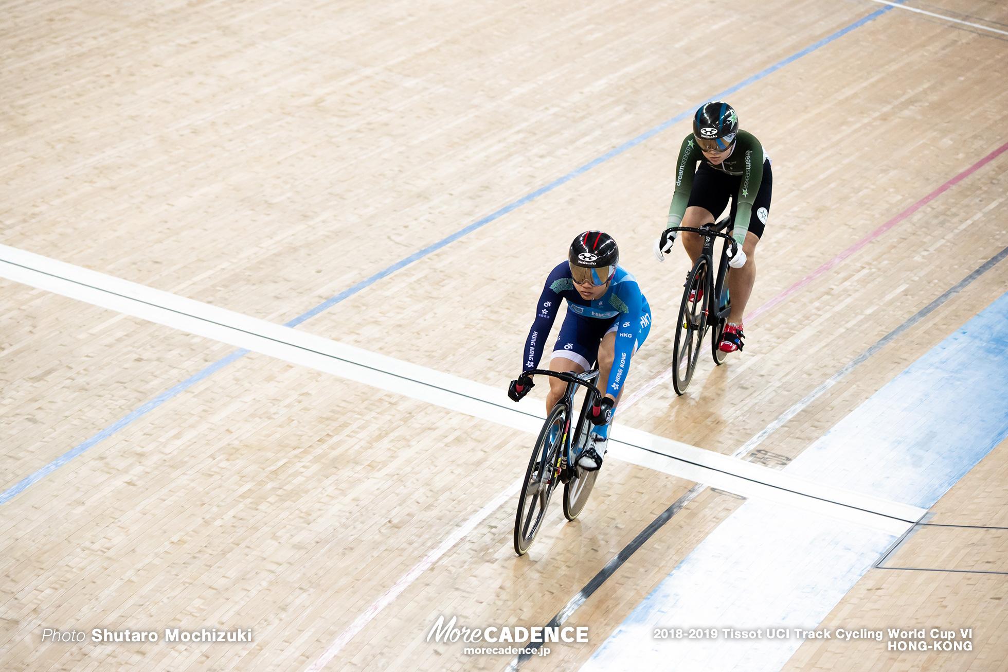 2nd Round / Women's Sprint / Track Cycling World Cup VI / Hong-Kong