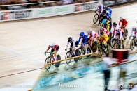 Women's Scratch Race / Track Cycling World Cup V / Cambridge, New Zealand