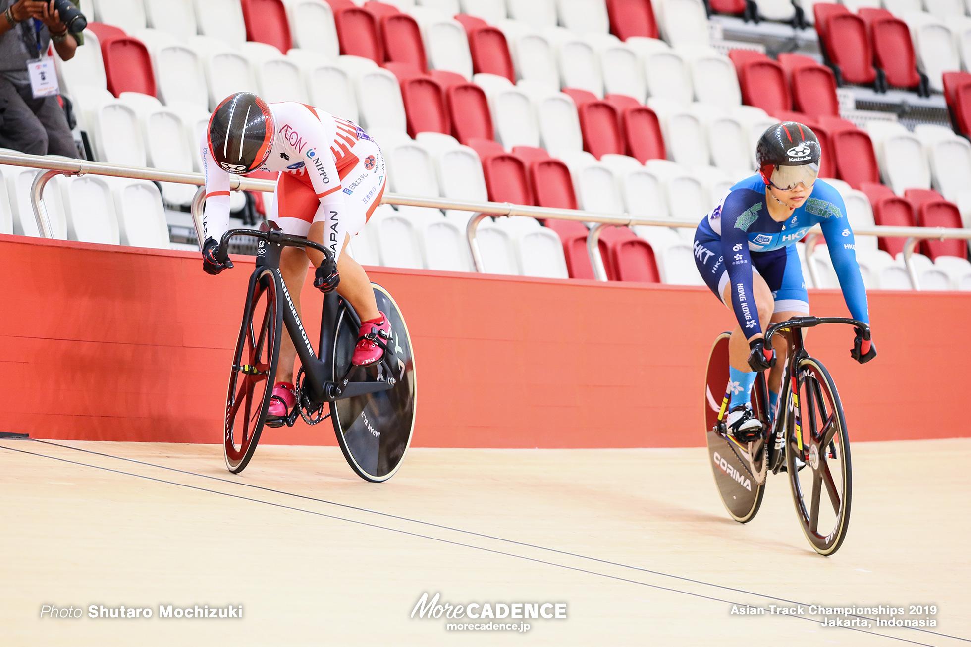 1/4 Final 1st Round Final / Women's Elite Sprint / Asian Championships Track 2019 Jakarta