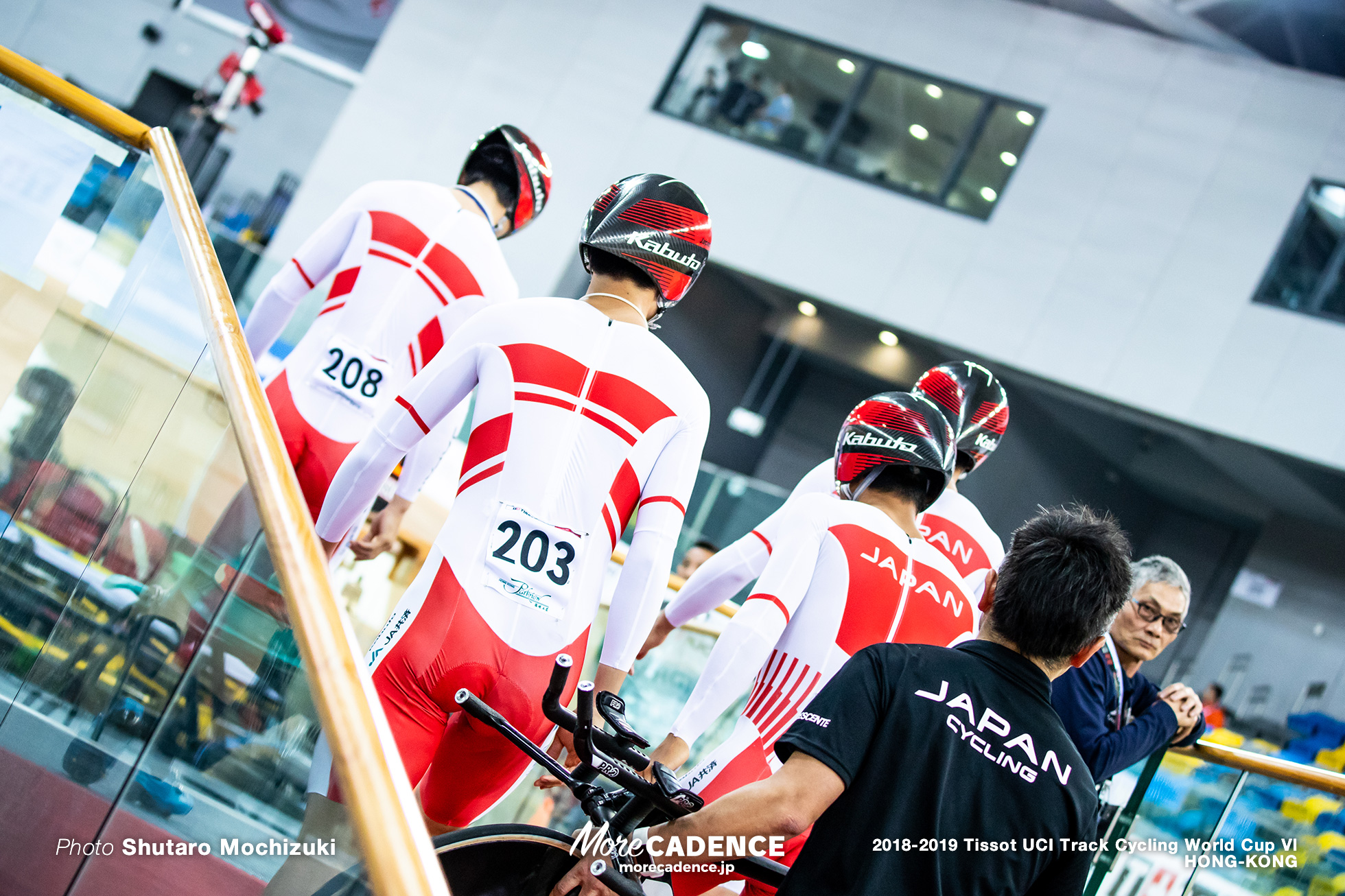 Qualifying / Men's Team Pursuit / Track Cycling World Cup VI / Hong-Kong