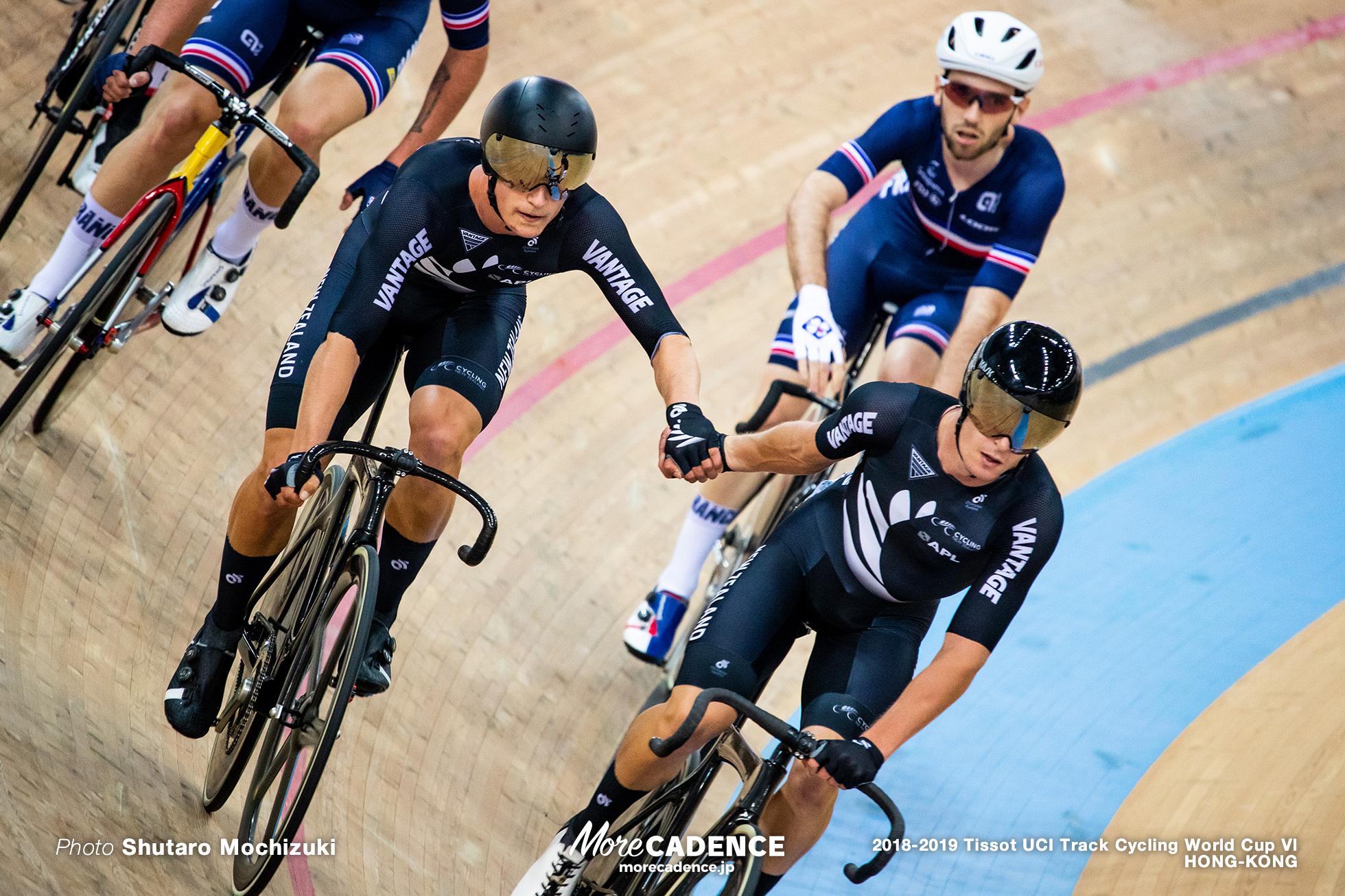 Men's Madison / Track Cycling World Cup VI / Hong-Kong