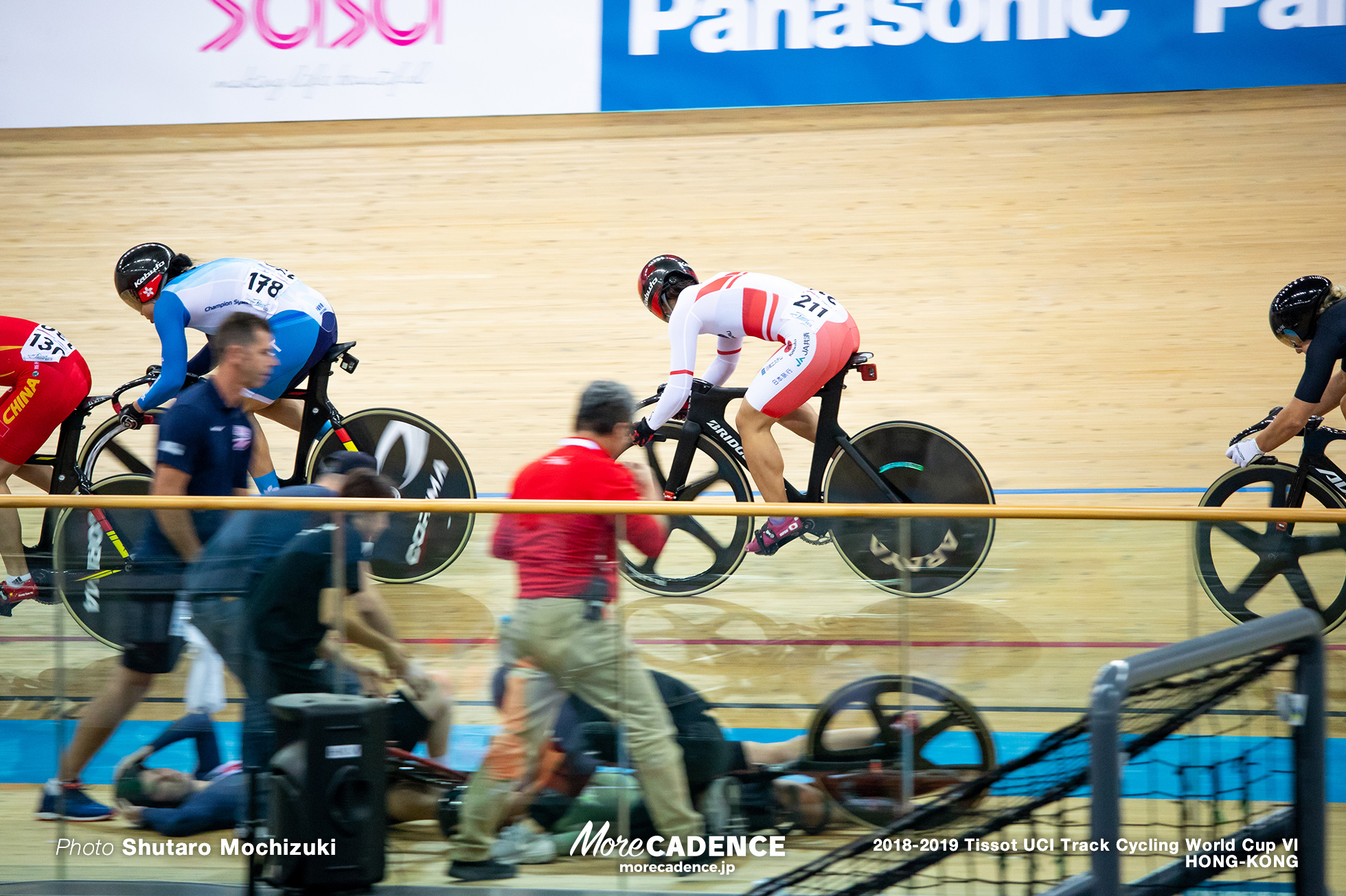 Semi Final / Women's Keirin / Track Cycling World Cup VI / Hong-Kong