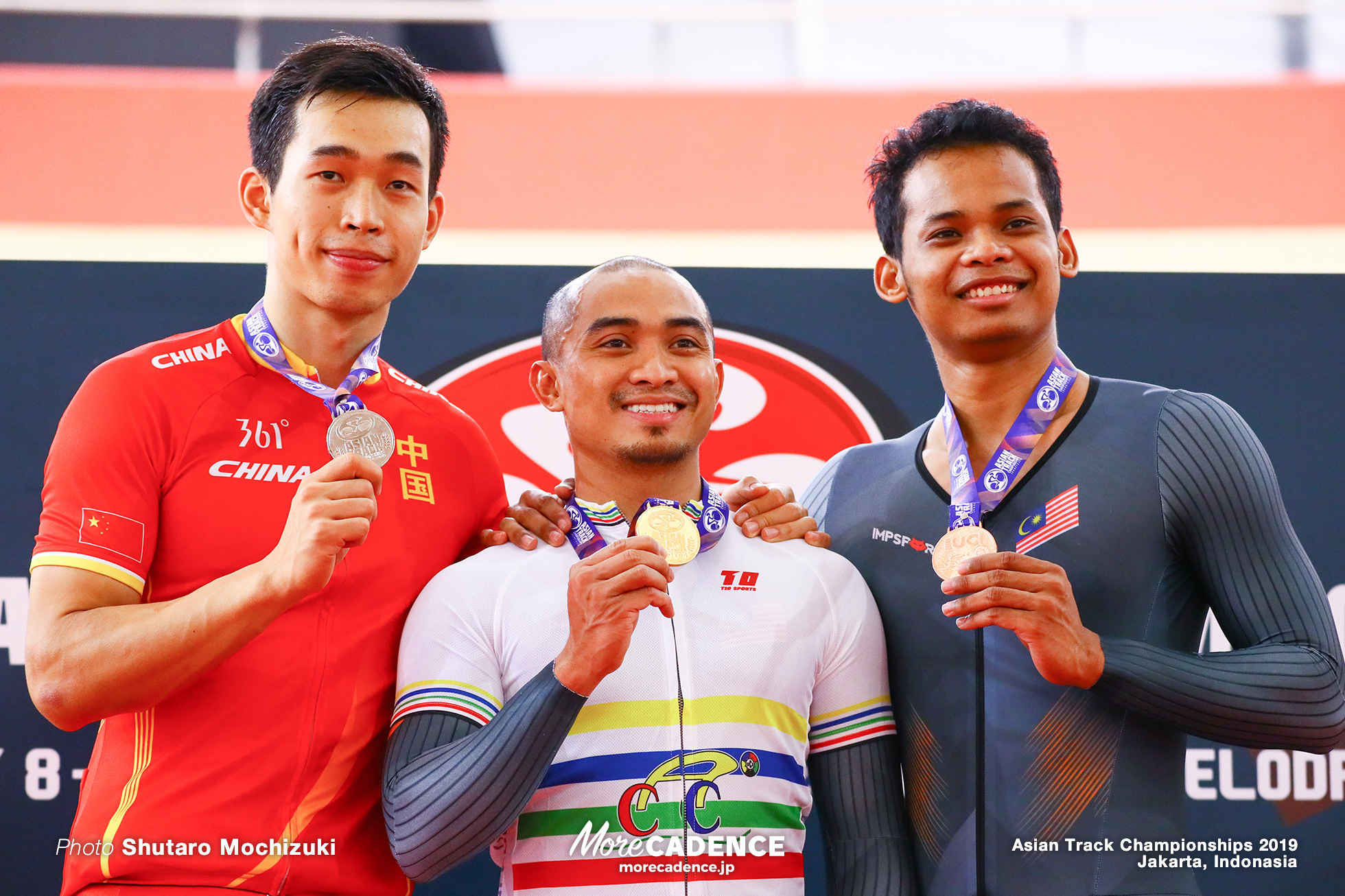 Final for Gold / Men's Elite Sprint / Asian Championships Track 2019 Jakarta